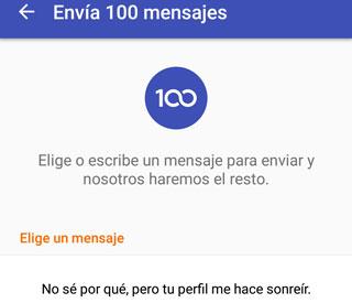 Como contactar a 100 personas con mensaje gratis desde app