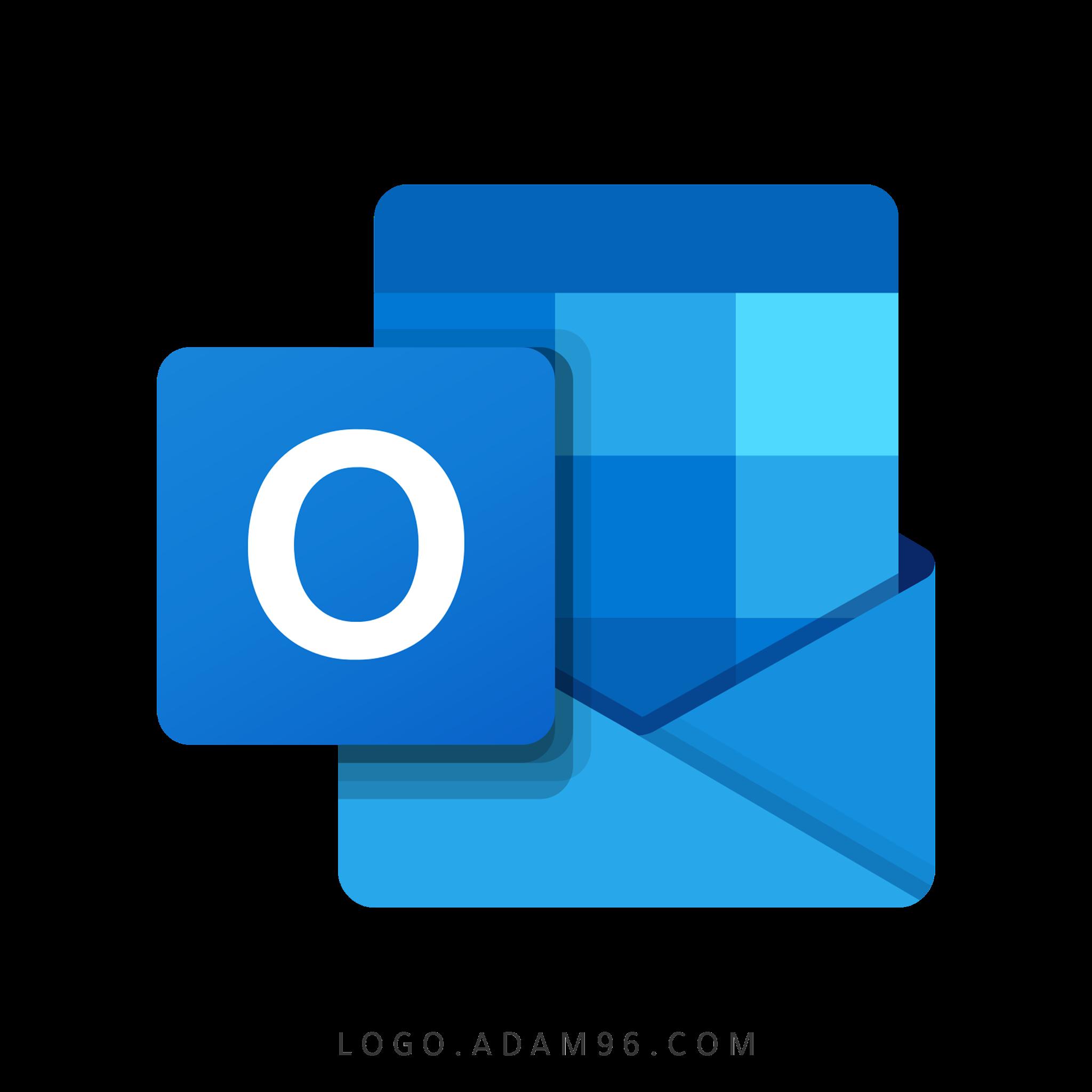 تحميل شعار مايكروسوفت آوتلوك لوجو عالي الدقة بصيغة شفافة Logo Outlook Microsoft PNG