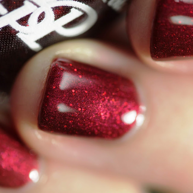 Paint It Pretty Polish Gosh Garnet swatch by Streets Ahead Style