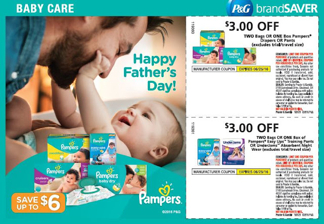 Pampers Diapers Savings on 5/29/16 #PampersSavings