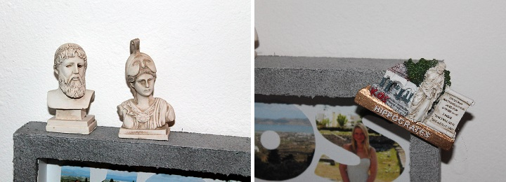 DIY, Basteln: Bilderrahmen Urlaubserinnerungen als Geschenkidee und Wohndekoration - DIYCarinchen