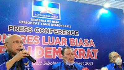 Keputusan KLB Partai Demokrat di Sibolangit: Bubarkan Majelis Tinggi!