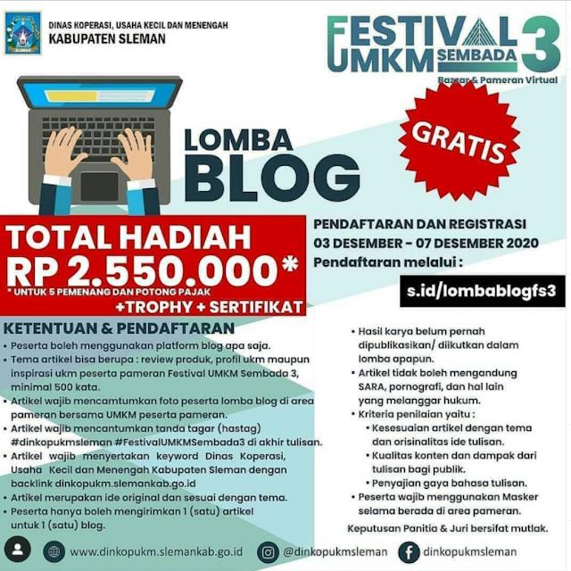 lomba-blog-sleman