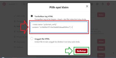 Cara Membuat Akun dan Konfigurasi Blog di Pinterest