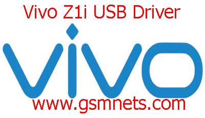 Vivo Z1i USB Driver Download
