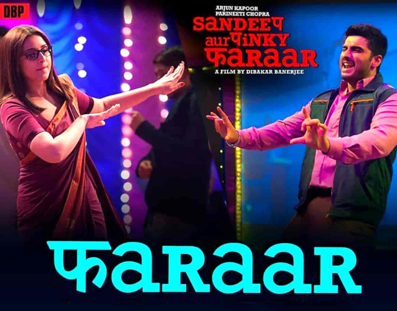Faraar Lyrics :- The first song Faraar has released from Arjun Kapoor and Parineeti Chopra starrer movie Sandeep Aur Pinki Faraar. This song has sung in the voice of very talented artist Anu Malik. Music of this song also has given by Anu Malik himself while this fresh song Faraar lyrics has written by Any Malik and Dibakar Banerjee. This song is presented by YRF Music Label.
