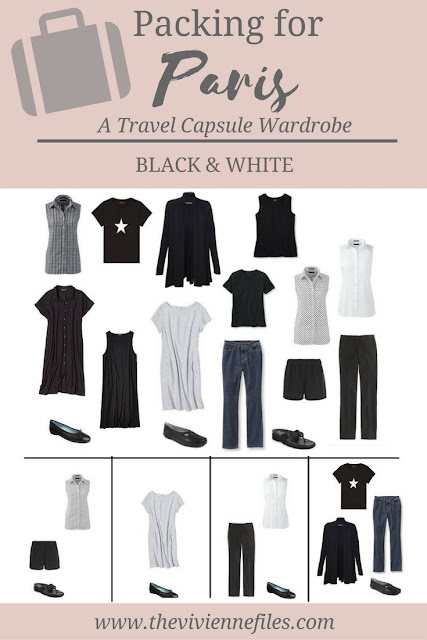 A Capsule Wardrobe Dilemma, And What I'm Packing For Paris
