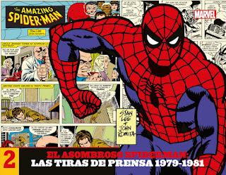 El Asombroso Spiderman: Las Tiras de Prensa  2