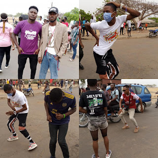 Students Of Federal University Of Agriculture Makurdi Go Crazy Over Preparation For Their 2021 Students Union Week And Carnival - A Must See Video
