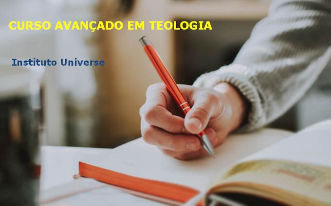 Bolsa de estudo Curso Avançado em Teologia completo 100% Online