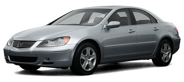 2008 Acura RL  Prices, Reviews and Pictures