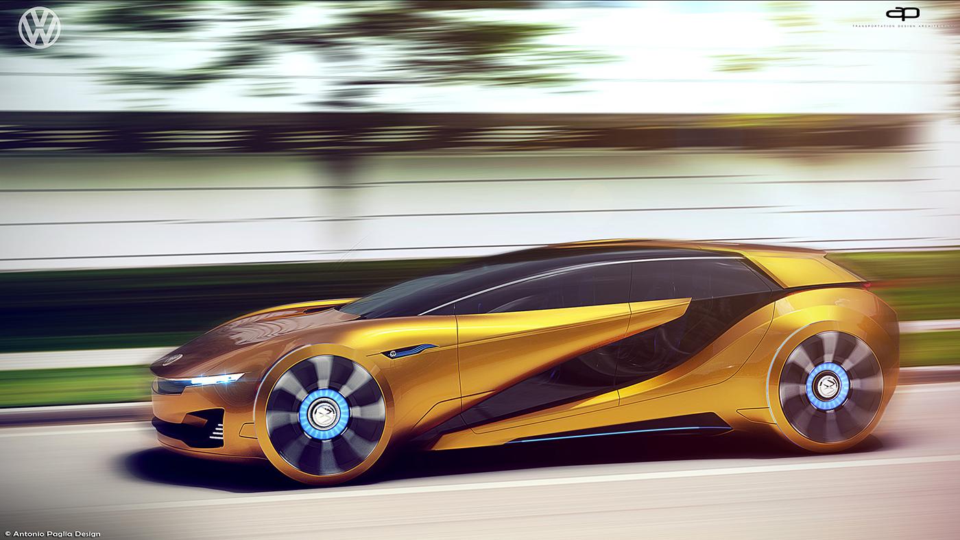 VW ID-Tech Concept by Antonio Paglia | motivezine