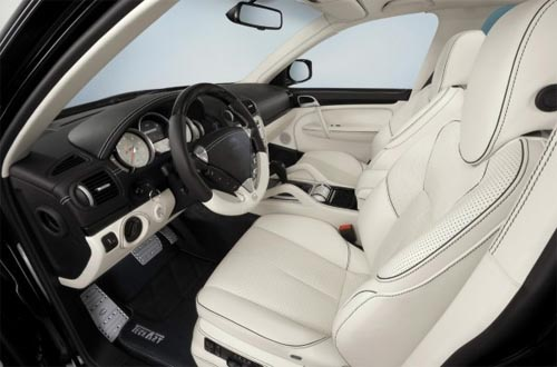 car Interior Design Porsche Cayenne Turbo by TechArt