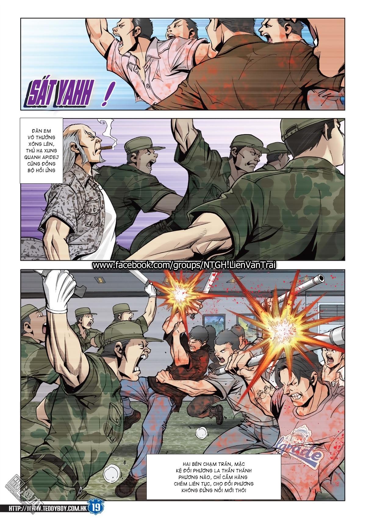 Người Trong Giang Hồ chapter 2026: khí diệm tông sư trang 18
