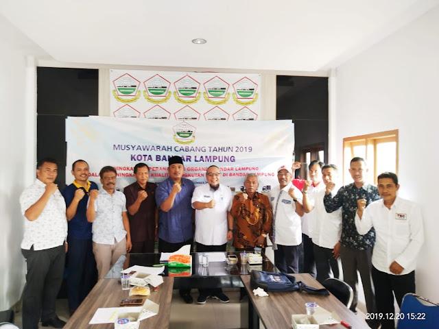 Tony Eka Candra Kembali Jabat Ketua Organda Bandar Lampung