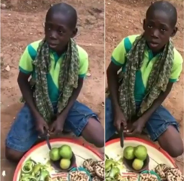 Young street hawker in viral video found after singing Tope Alabi's song