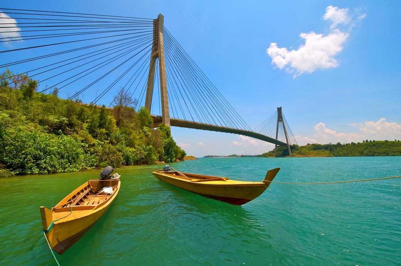 Jembatan Barelang, Batam. Jujugan turis Singapura | Cheria Holiday