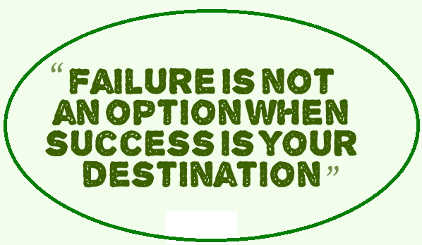 failure is not an option quotes