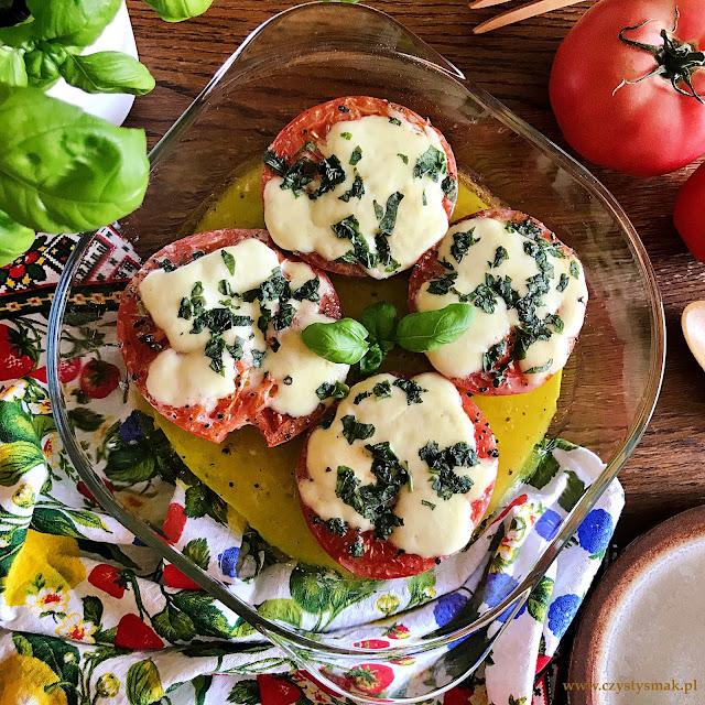Pomidory pieczone w oliwie