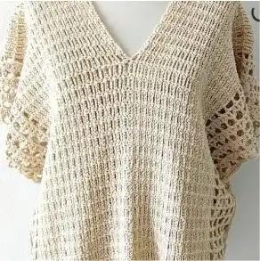 Poncho Susurro de Verano a Crochet