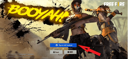 Facebook Free Fire  ID and Password free