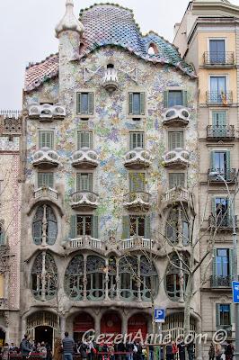 Barselona Casa Batlo evi