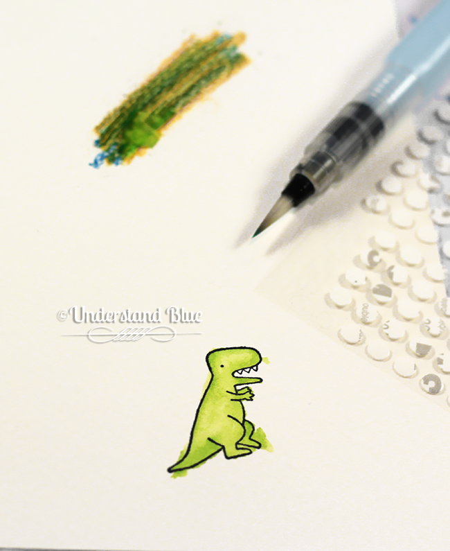 Watercolor Pencil Coloring tip by UnderstandBlue