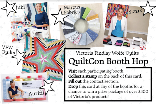 QuiltCon Booth HOP!