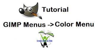 GIMP Color Menu