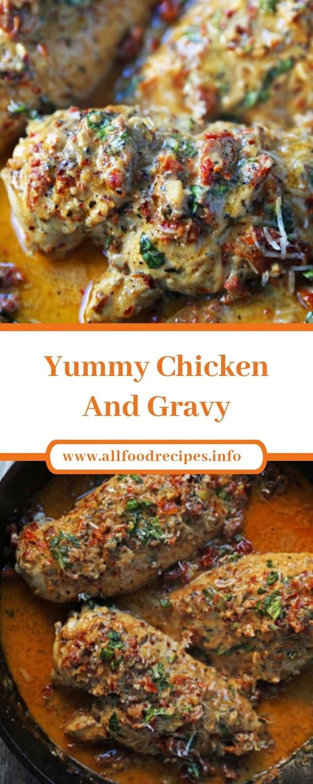 Yummy Chicken And Gravy