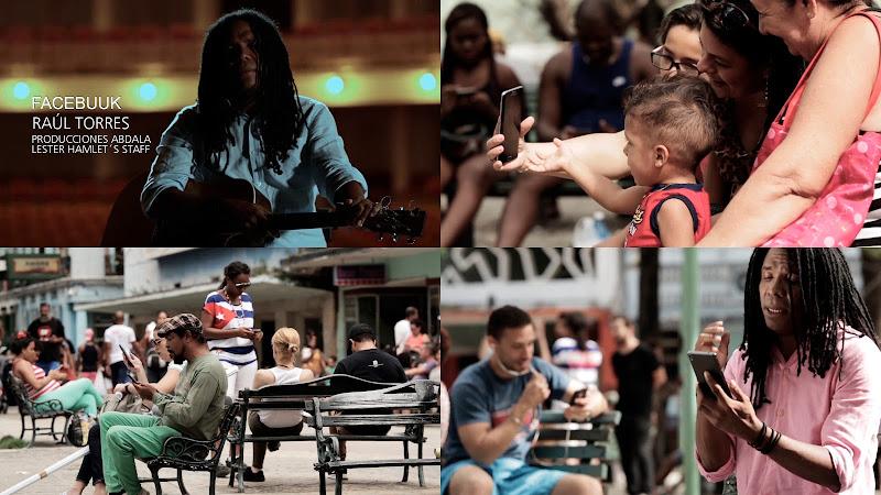 Raúl Torres - ¨Facebuuk¨ - Videoclip - Dirección: Lester Hamlet. Portal del Vídeo Clip Cubano