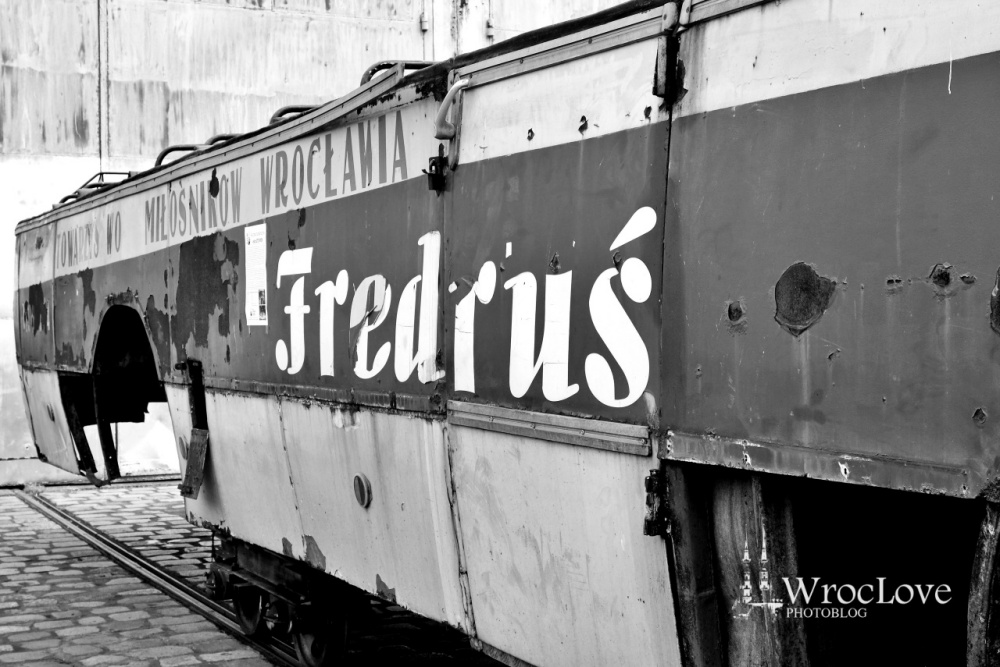 """Fredrus"" autobus przed remontem"