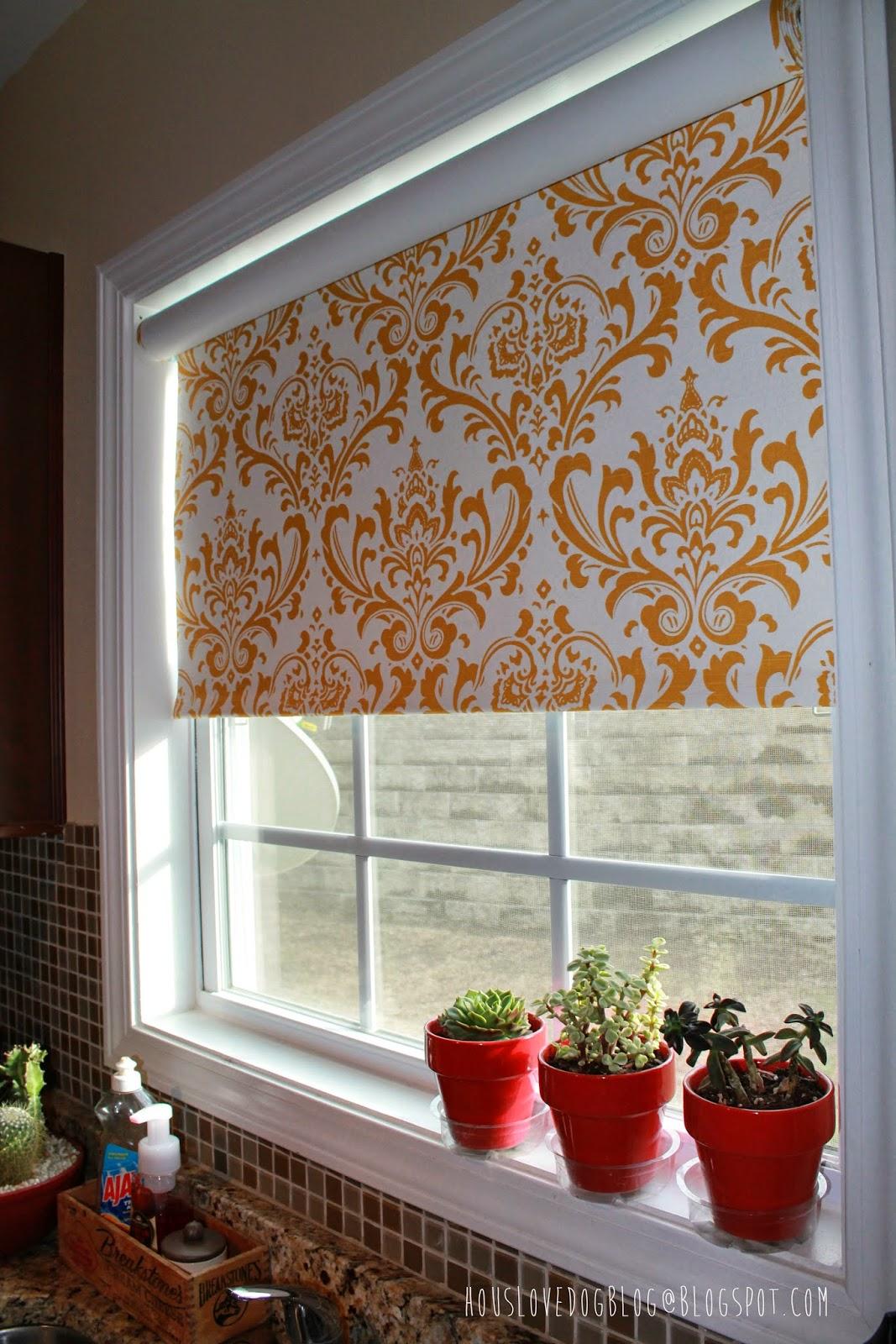 hous love dog blog ikea hack fabric covered tupplur blinds. Black Bedroom Furniture Sets. Home Design Ideas