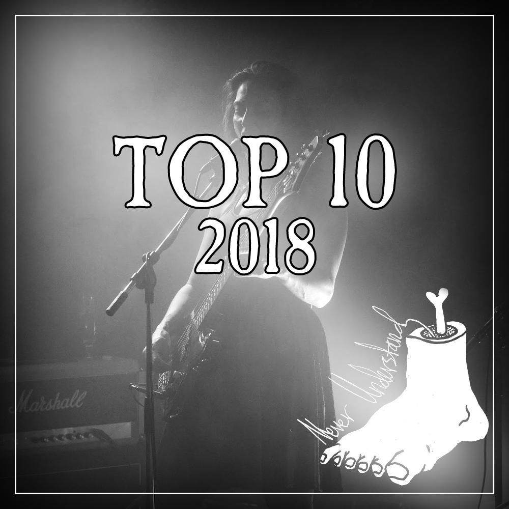 Top 10 konserter 2018