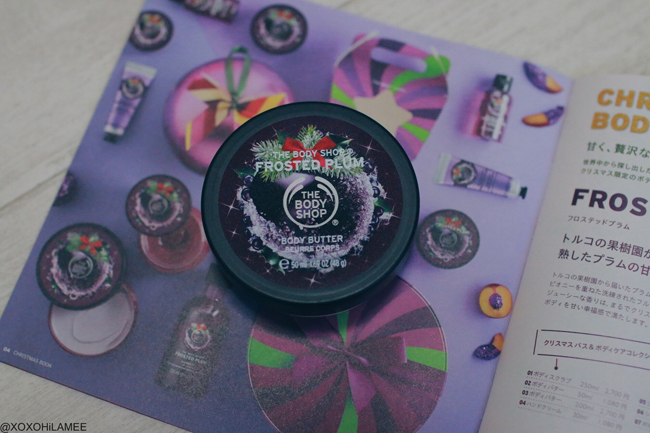 Japanese Fashion Blogger,MizuhoK,New in November,THE BODY SHOP=lip color gross,body butter