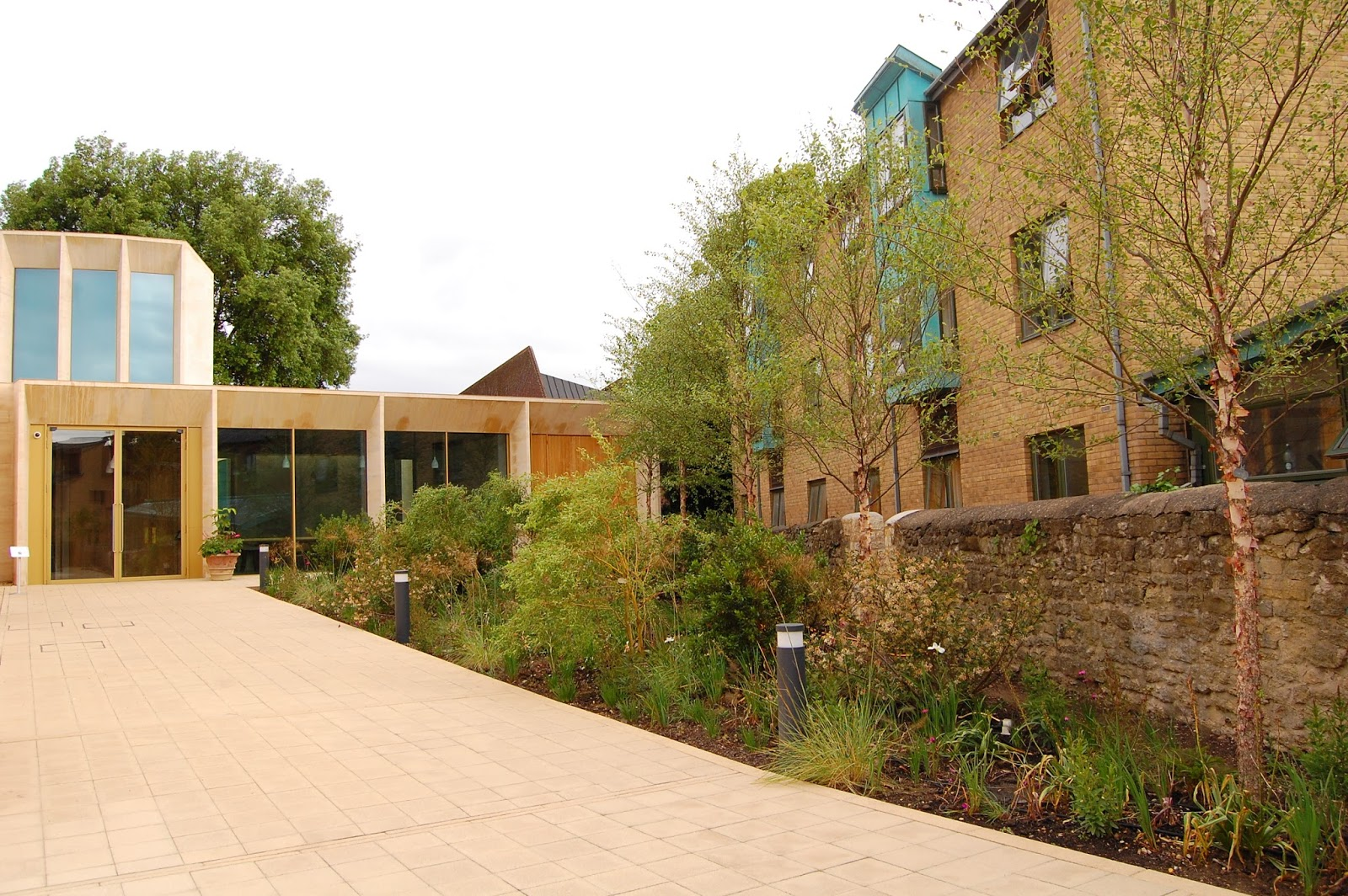 Worcester College Gardeners Soft Landscaping Around The