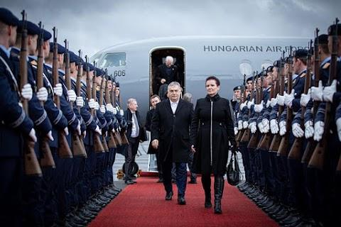 """Orbán Viktor Berlinben: """" A sas leszállt"""""""