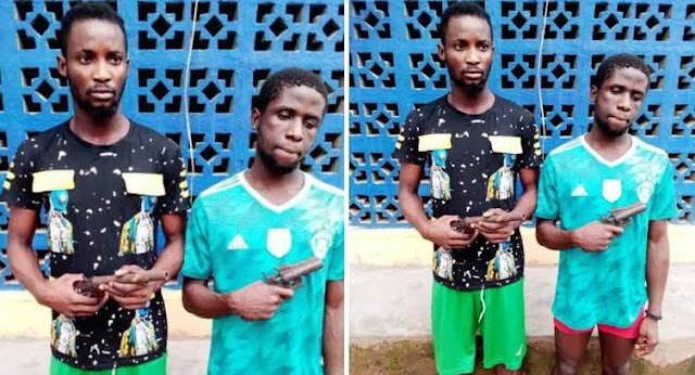 Two suspected cultists arrested while on revenge mission in Imo