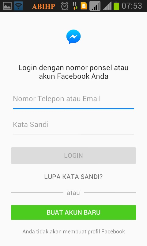 Silahkan login ke messenger untuk melihat pemilik nomor hp.