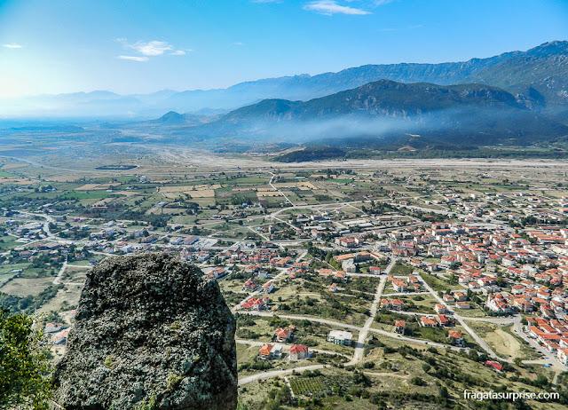 Vila de Trikala, Meteora, Grécia