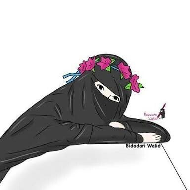 Kumpulan Anime Kartun Muslimah Bercadar Parft 6 Blog Elysetiawan