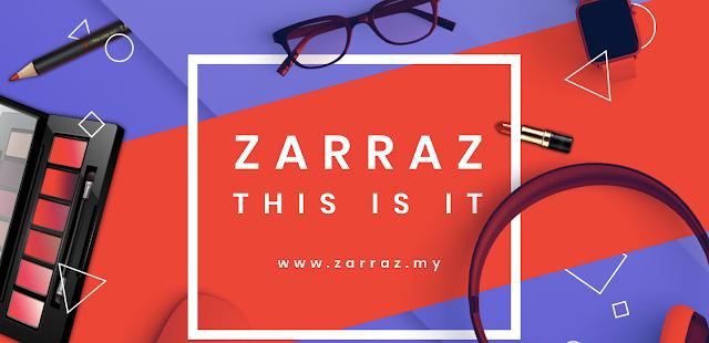 JANA PENDAPATAN, SHOPPING DAN MENJUAL DI ZARRAZ MALL