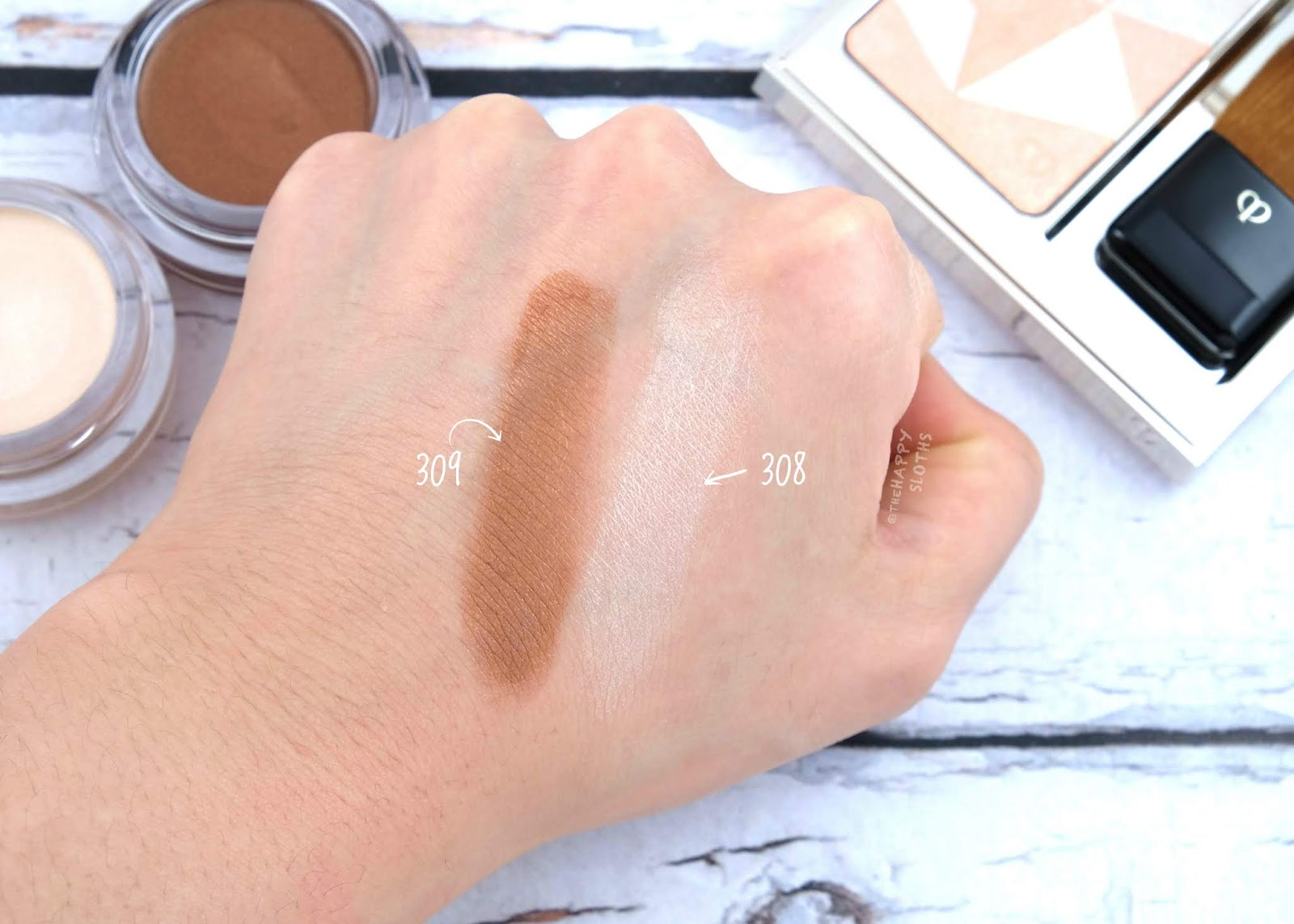 "Clé de Peau Beauté | Summer 2019 Ombre Crème Solo in ""308"" & ""309"": Review and Swatches"