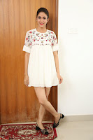 Lavanya Tripathi in Summer Style Spicy Short White Dress at her Interview  Exclusive 251.JPG