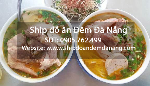 Bun gio heo - Ship do an dem Da Nang