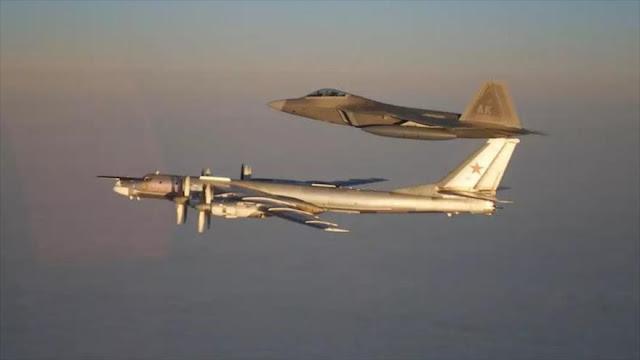 EEUU intercepta dos bombarderos nucleares rusos cerca de Alaska