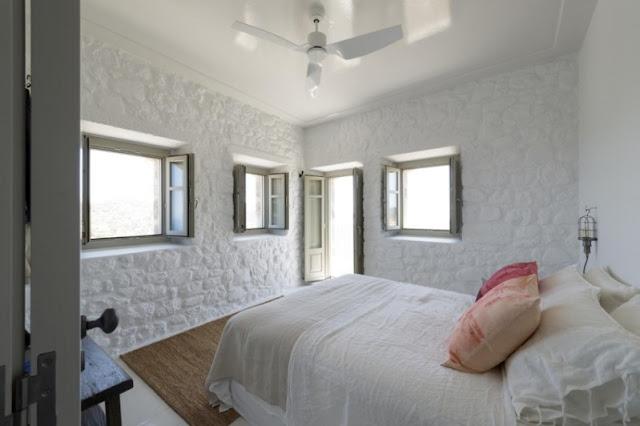 paredes de piedra pintadas de blanco chicanddeco