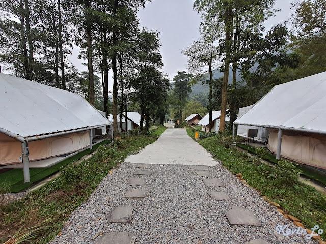 拉波波村營區環境