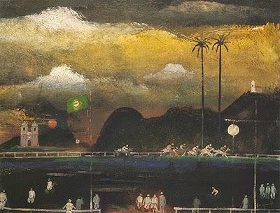 Jockey Clube ao Anoitecer - Guignard e suas pinturas ~ Pintor de Minas Gerais