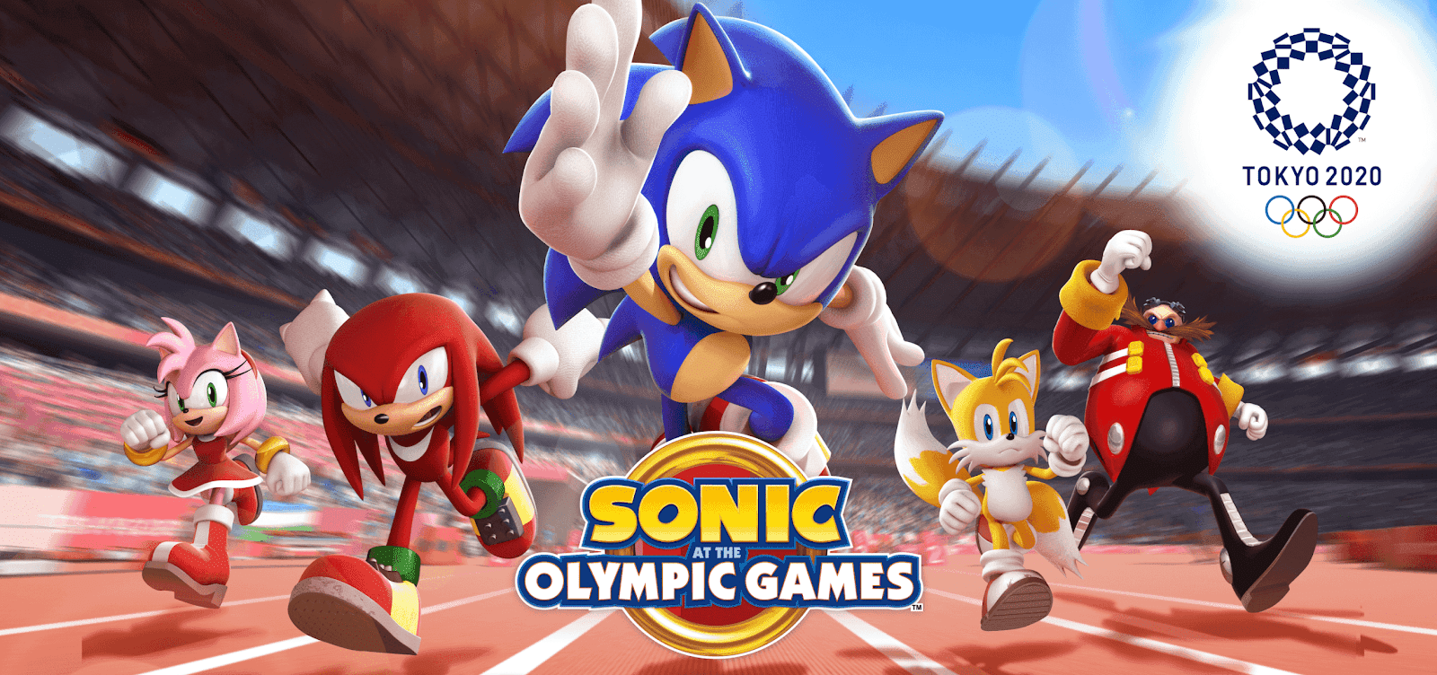 Sonic at the Olympic Games Tokyo 2020 Finally out Worldwide